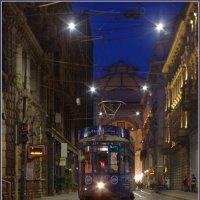 Милан. Вечер.. Трамвай... :: Николай Панов