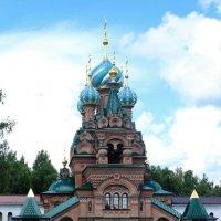 Храм в честь Святителя Спиридона Тримифундского в Николо-Сольбинском женском монастыре. :: Ираида Мишурко