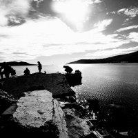 Рыбалка в Нагаево :: Ирина Зайцева