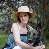 Дама с собачкой :: Оксана Пучкова
