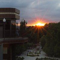 закат в Черкесске :: Анастасия Рогозина