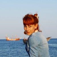 На крымском берегу))  Любимый Коктебель) :: Дина Дробина