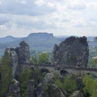 Саксонская Швейцария. Мост Бастай :: Константин Тимченко