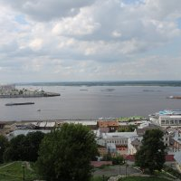 Стрелка Волги и Оки. Нижний Новгород :: Andrew