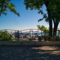 В утренней тени летнего парка. :: Вахтанг Хантадзе