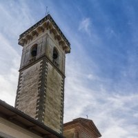 Винчи. Старый город. Церковь Святого Креста, 13 век. :: Надежда Лаптева