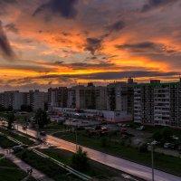 На закате. :: Виктор Иванович