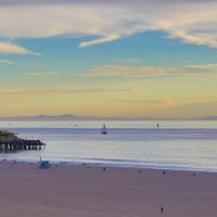 Закат на пляже :: Надежда Абрамян