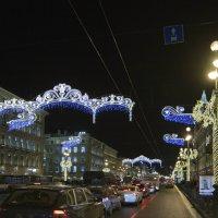Новый год на Невском :: Александр Рябчиков