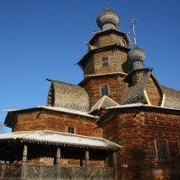 деревянное зодчество :: Дмитрий Солоненко