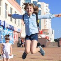 Фото в прыжке... :: Анна Шишалова