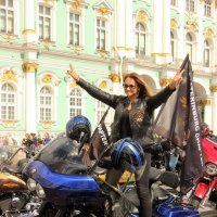 Мотофестиваль St.Petersburg Harley® Days 2017 :: Вера Моисеева