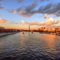Москва на закате :: Tatiana Poliakova