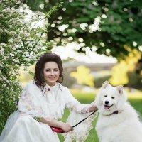 дама с собачкой :: Ирина Симухова