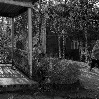 Обычный двор в Тотьме :: Андрей Нестеренко