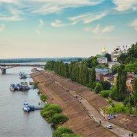 Нижний Новгород. Дятловы горы. Ока :: Ирина Лепнёва
