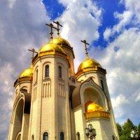 Храм всех святых на Мамаевом Кургане, Волгоград. Вид #2. :: Алексей Батькович