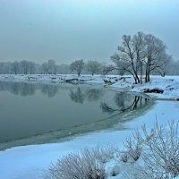 Зимний пейзаж :: Дубовцев Евгений