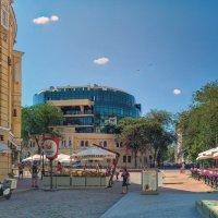 Утренние прогулки по Греческой площади. :: Вахтанг Хантадзе