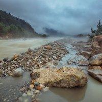 Дзинага, Дигорское ущелье, река Караугом :: Ежъ Осипов