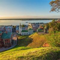 Нижний на закате :: Ирина Лепнёва