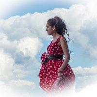 В облаках... :: Татьяна Симонова