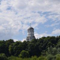 Купола церквей, купола... Ввысь уходят к небесной сини. :: Galina Leskova