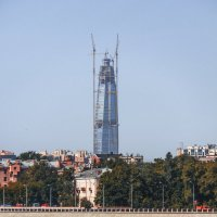 Первый в Санкт-Петербурге небоскрёб. :: bajguz igor