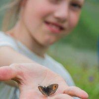 Девочка с бабочкой :: Александр Чехановский
