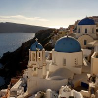 The famous church in Oia :: Антон Мазаев