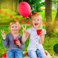 Две подружки - веселушки! :: Олеся Вагизова