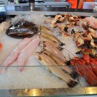 Рыбрый рынок в Бергене :: Ольга