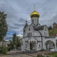Церковь в честь иконы Казанской Божьей Матери :: Сергей Цветков