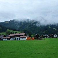 Утро в Баварских Альпах, проездом... :: Galina Dzubina