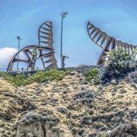 битва титанов на Ашкелонском пляже :: Александр Липовецкий