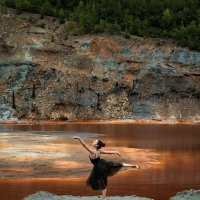 Танец на песке :: Ольга Щербакова