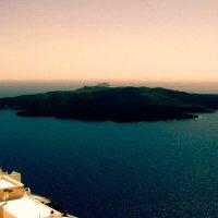 Вид с острова Санторини :: Лара Амелина