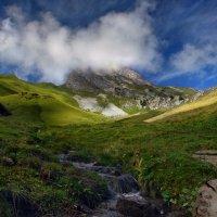 вершины гор укрыло небо :: Elena Wymann