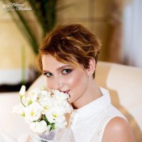 Яркая, неподражаемая, стильная невеста Ксения :: Viktoria Shakula