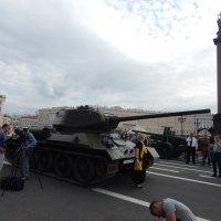 Парад боевой техники времен ВОВ :: Виктор Егорович