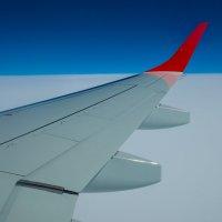 На крыле самолета :: Андрей ТOMА©