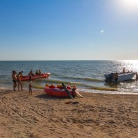 Азовское море, пляж в Должанке :: Алексей Лейба