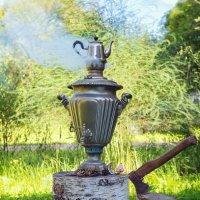 Самоварный чай... :: Ирина Лепнёва