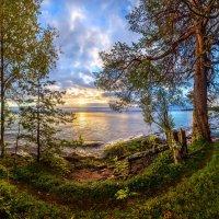 Берег Онежского озера на рассвете :: Фёдор. Лашков