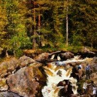 Рускеальские водопады :: Анжела Пасечник