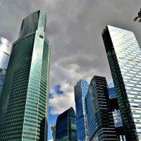 «Москва-Сити» из автомобиля :: Михаил Столяров