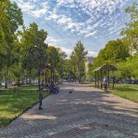 Утро на Александровском проспекте. :: Вахтанг Хантадзе