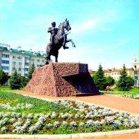 Орёл. Памятник Ермолову.. :: Владимир Драгунский
