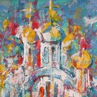 Картина художника Бориса Лиханова (Великие Луки) на выставке в  в/х зале на Некрасова... :: Владимир Павлов