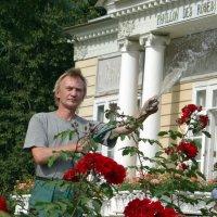 Рома и розы. :: Алексей Цветков